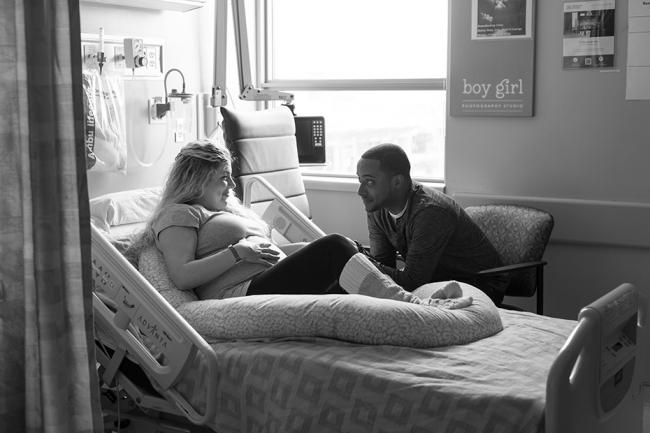 North York General Hospital Maternity Session, Toronto Newborn Photographer